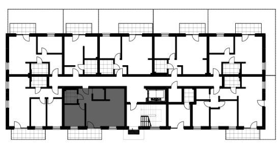 Wybrane mieszkanie na rzucie piętra